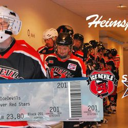 IceDevils vs. Red Stars, 22:15 Uhr